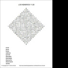 Spanish Number Word Search -Realidades-Para Empezar-Numbers 11-20