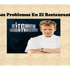 Spanish Problemas en el Restaurante-presentation and activities