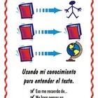 "Spanish Reading Strategy Posters - Tabloid Size ( 11 x 17 "")"