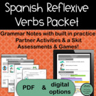 Spanish Reflexive Verbs, PACKET of 10 activities