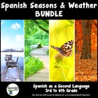 Spanish Season and Weather Packet &amp; Answer Key