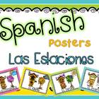 Spanish Seasons Posters