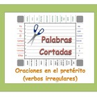Spanish Sentence Formation Practice Activity: Irregular Preterite