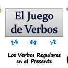 Spanish Sentence Writing Activity with  Regular Verbs (Pow