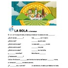 Spanish Song Cloze - La Bola