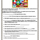 Spanish Speaking Countries Student Activities and Teacher