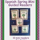 Spanish Spring Mini Guided Readers in Color