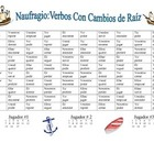 Spanish Stem-Changing Verb Practice Activity (Shipwreck-Na