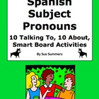 Spanish Subject Pronouns Practice