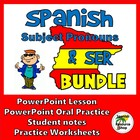 Spanish Subject Pronouns and Ser PICTURE Notes and Practic
