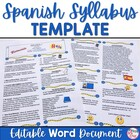 Spanish Syllabus