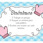 Spanish Synonyms (Sinónimos)