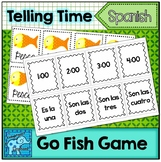 Spanish Telling Time Go Fish Card Game
