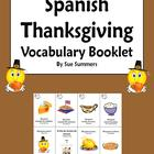 Spanish Thanksgiving Booklet / Accion de Gracias - Elementary