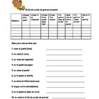 Spanish Thanksgiving vocabulary survey