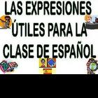 Spanish Useful Classroom Expressions Bulletin Board/Expres