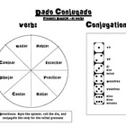 Spanish Verb Conjugation Game- Regular Present Ar Verbs- D