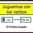 Spanish Verb Form Writing Practice Activity: Irregular and