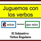 Spanish Verb Form Writing Practice Activity: Regular Subjunctive