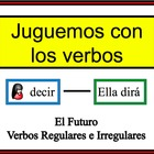 Spanish Verb Form Writing Practice Activity: Regular and I