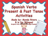 Spanish Verbs Present and Past Tense Activity
