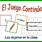 Spanish Vocabulary Activity for Groups: Classroom Objects