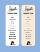 Spanish Vocabulary Bookmark