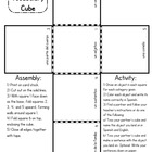 Spanish Vocabulary Cube - FREE