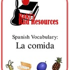 Spanish Vocabulary - La Comida