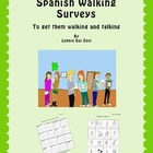 Spanish Walking Surveys (Human Bingo)