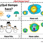 Spanish Weather Booklets - Que Tiempo Hace?