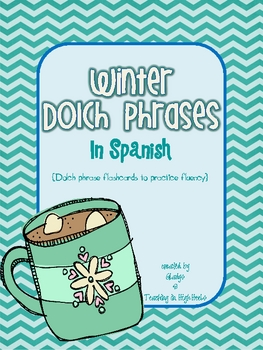 Spanish Winter Dolch Phrases