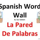 Spanish Word Wall Opinions &amp; Survival Language Classroom Signs