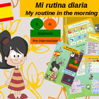 Spanish daily routine in the morning for beginners