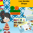 Spanish las tiendas, shops for beginners