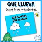 Spanish poem, ebook, memory game, and coloring pages for l