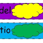 Spanish sight word practice