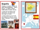 Spanish speaking countries postcards in Spanish and place mats