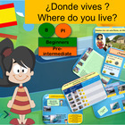 Spanish where do you live?Donde vives?