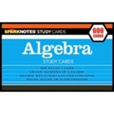 SparkNotes Algebra Study Cards (flash Cards)