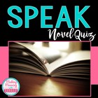 """Speak"" by Laurie Halse Anderson Multiple Choice Quiz"