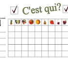 Speaking Activity with Fruit in French - Involves Entire Class