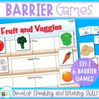 Speaking and Listening Games - Barrier Games