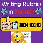 Speaking and Writing Rubrics in Spanish