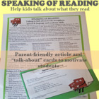 Speaking of Reading: An Exercise in Expressive Language