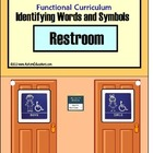 Special Education Functional Worktask RESTROOM Activity Book