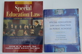Special Education IEP Law 2 Books Professional Development