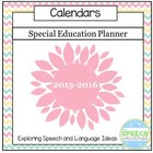 Special Education Planner