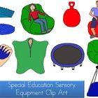 Special Education Sensory Equipment Clip Art