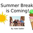 "Special Education; Social Narrative; ""Summer Break is Coming"""